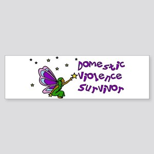 Domestic Violence Survivor Bumper Sticker